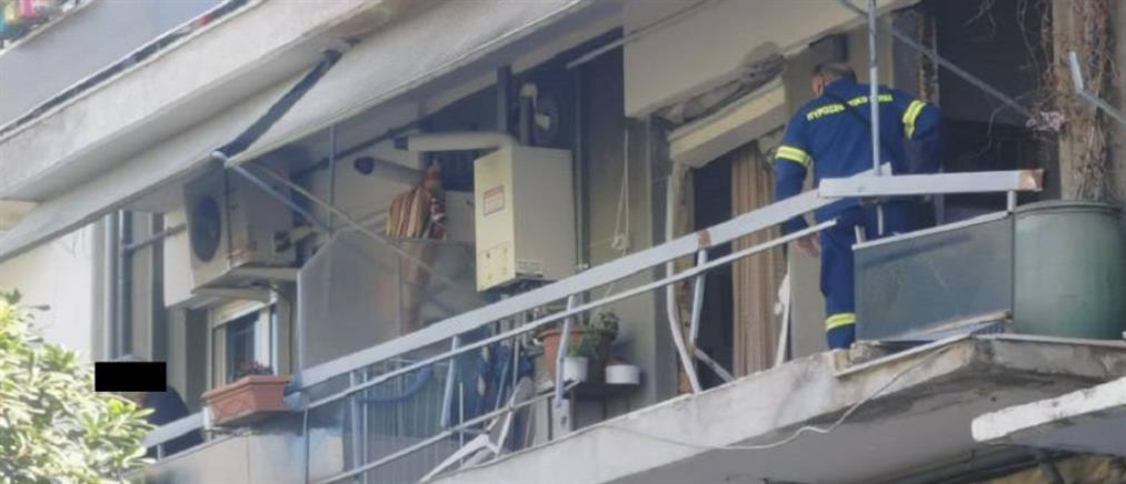 Ισχυρή έκρηξη σε διαμέρισμα πολυκατοικίας (βίντεο)
