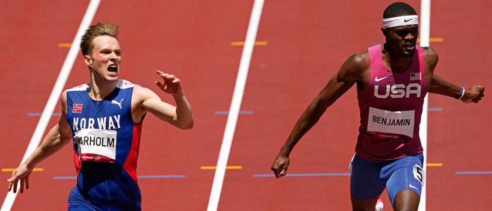 """Ολυμπιακοί Αγώνες: Ο Βάρχολμ """"ισοπέδωσε"""" το παγκόσμιο ρεκόρ στα 400μ.με εμπόδια"""