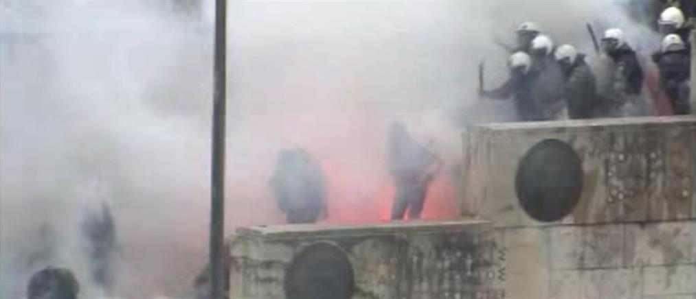 Μηνυτήρια αναφορά από τον ΙΣΑ για τα χημικά στο συλλαλητήριο