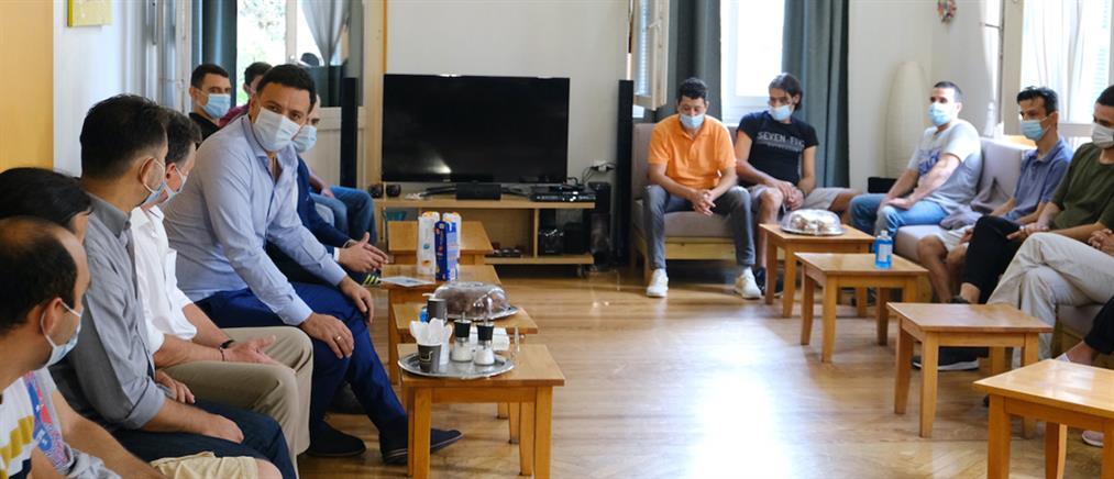 Κικίλιας από ΚΕΘΕΑ: Το Υπουργείο Υγείας και οι δομές του στηρίζουν τους μαχητές της ζωής (εικόνες)