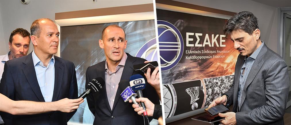 Αγγελόπουλοι και Γιαννακόπουλος τιμωρήθηκαν από τον αθλητικό δικαστή