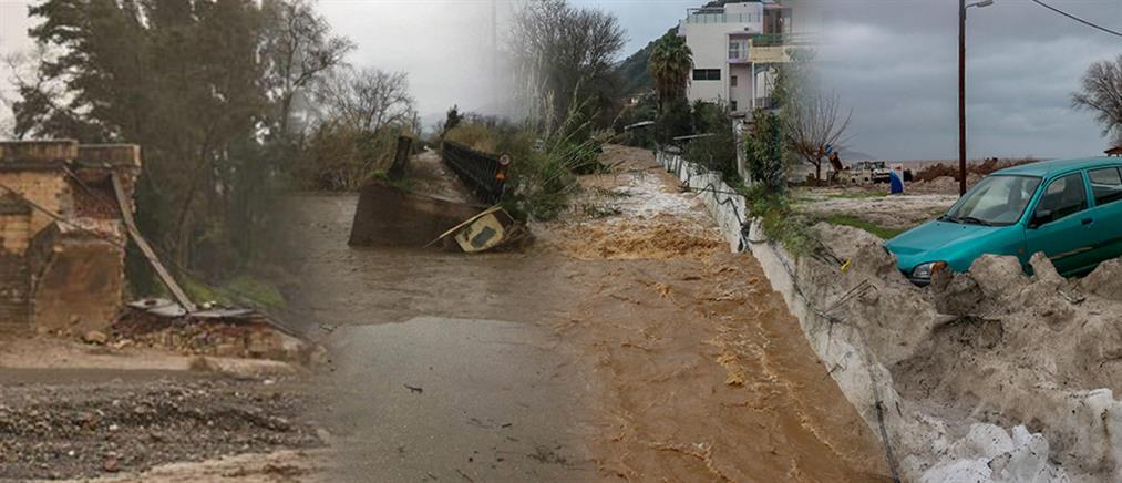 Μέτρα του ΥΠΟΙΚ για τους πλημμυροπαθείς στην Κρήτη