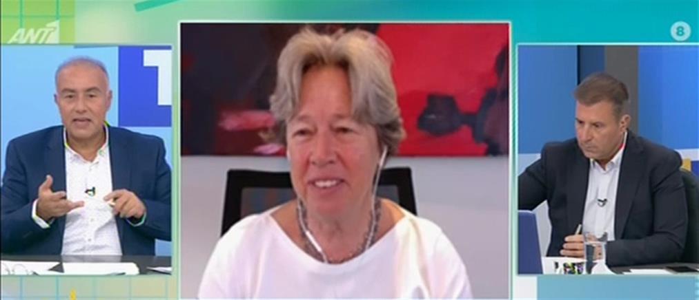 Λινού στον ΑΝΤ1 για κορονοϊό: βρισκόμαστε σε κρίσιμη καμπή (βίντεο)