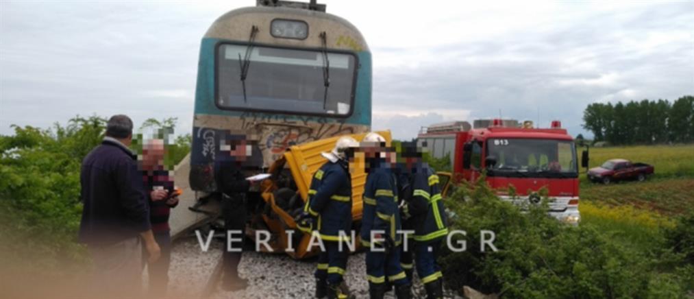 Φονική σύγκρουση αυτοκινήτου με τρένο