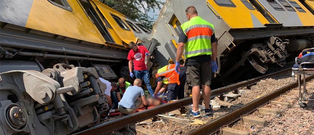 Σιδηροδρομικό δυστύχημα με σύγκρουση δυο αμαξοστοιχιών (εικόνες)
