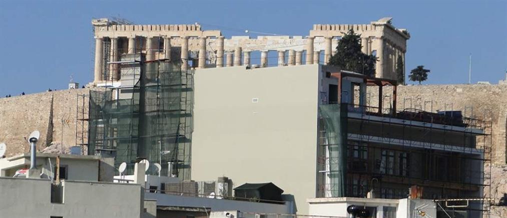 ΕΕΠΠ: Στον αναπτυξιακό νόμο υπό ανέγερση πολυώροφο ξενοδοχείο στη σκιά της Ακρόπολης