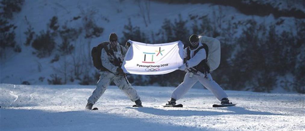 Με κοινή σημαία Βόρεια και Νότια Κορέα στους Χειμερινούς Ολυμπιακούς Αγώνες