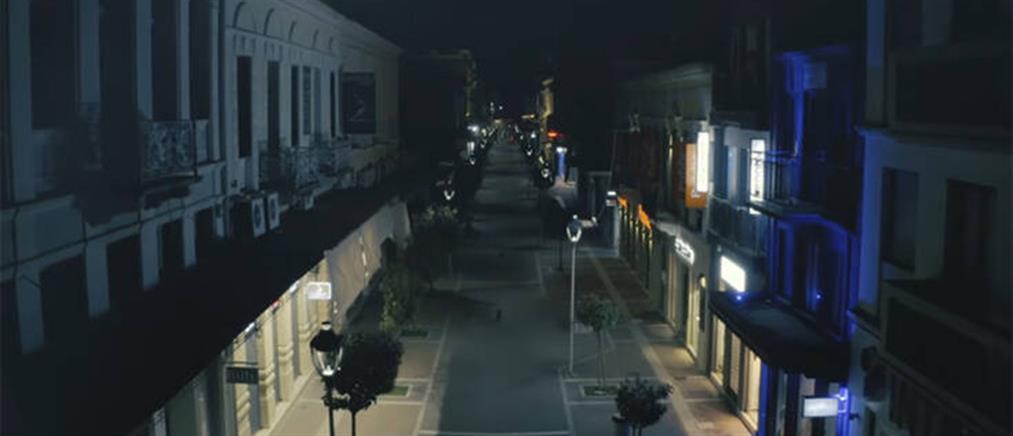 Κορονοϊός: Πόλη-φάντασμα η Καλαμάτα (βίντεο)