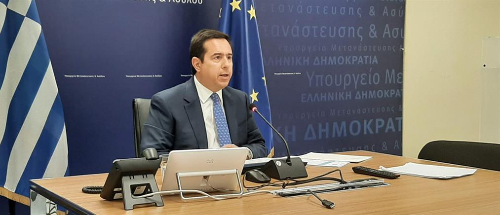 Μηταράκης: Η Ελλάδα δεν θα γίνει η πύλη της Ευρώπης για δίκτυα λαθρεμπορίου