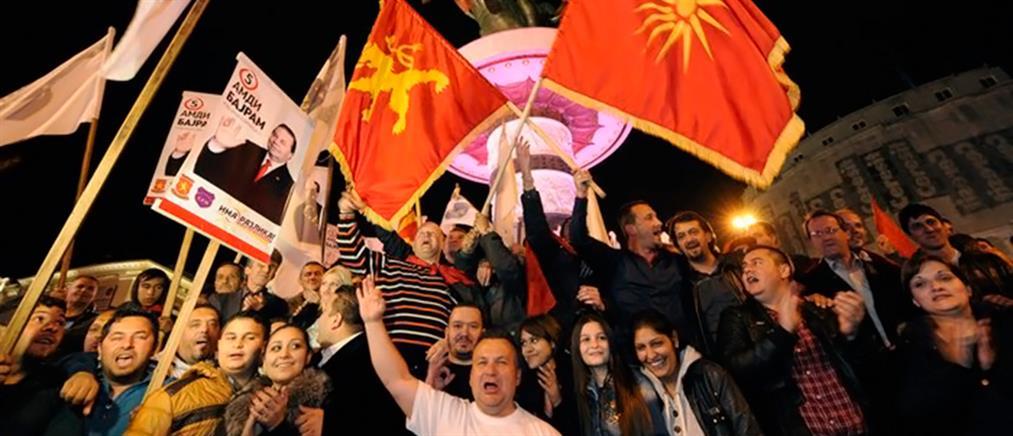 ΠΓΔΜ: Πανηγυρίζουν Γκρούεφσκι και Ιβανόφ