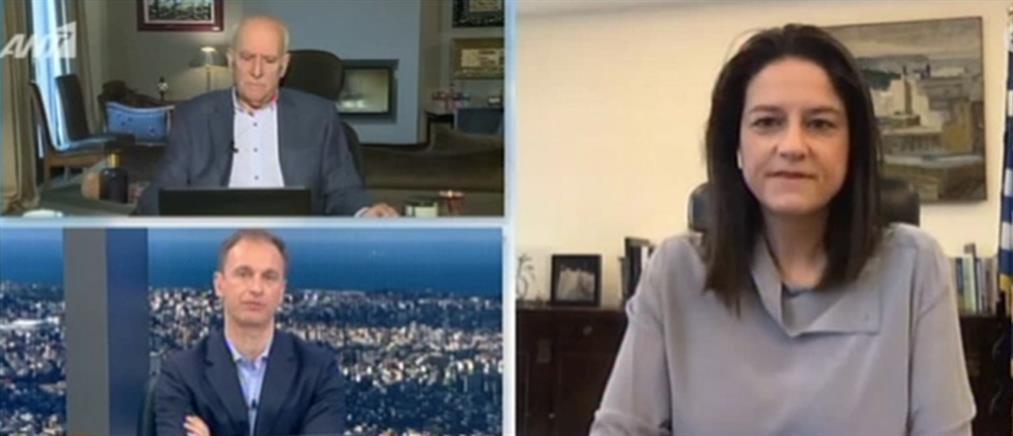 Η Νίκη Κεραμέως στον ΑΝΤ1 για τις Πανελλαδικές και τα κλειστά σχολεία (βίντεο)