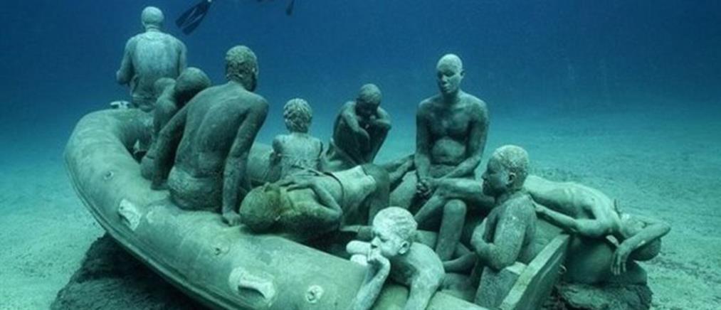 Το πρώτο υποβρύχιο μουσείο γλυπτών στην Ευρώπη (φωτό & βίντεο)