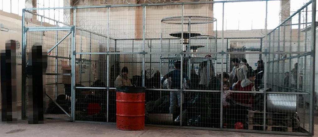 Σάλος από τη φωτογραφία του VICE με τους πρόσφυγες μέσα σε… κλουβί