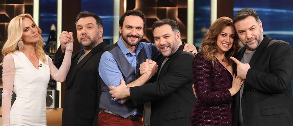 """The 2Night Show"" με λαμπερούς καλεσμένους την Πέμπτη (εικόνες)"