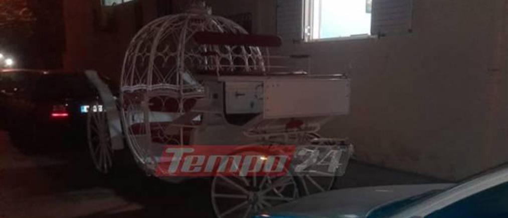 Κατασχέθηκε η άμαξα της νύφης λίγες ώρες πριν από τον γάμο (εικόνες)