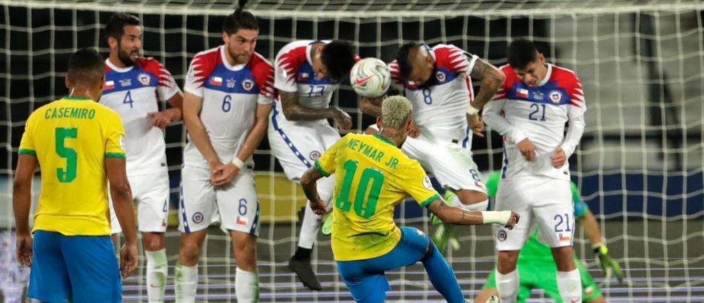 "Copa America: Βραζιλία και Περού στους ""4"""