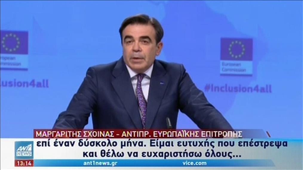 """Μαργαρίτης Σχοινάς: Περιέγραψε την προσωπική του """"μάχη"""" με τον κορονοϊό"""