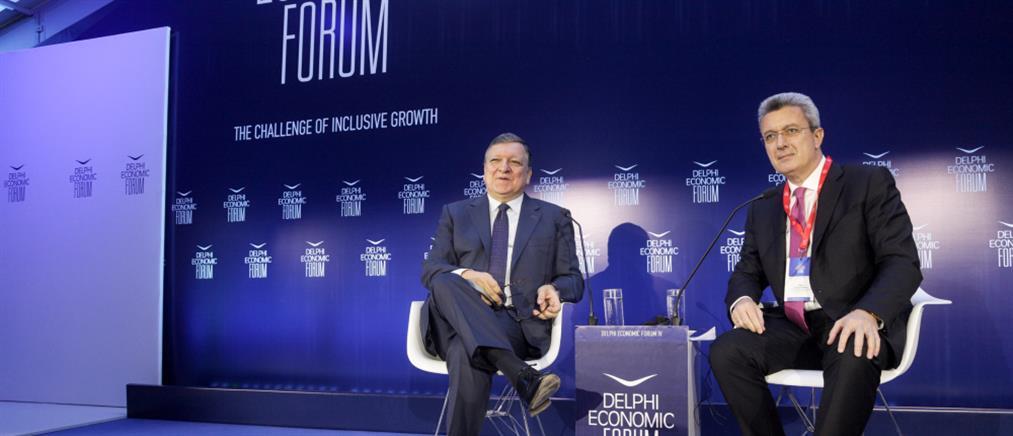 """""""Καμπανάκια"""" Μπαρόζο για το παρόν και το μέλλον της ελληνικής οικονομίας"""