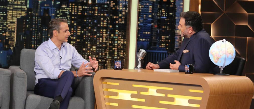 """Μητσοτάκης στο """"The 2Night Show"""": την τελευταία 4ετία, το ψέμα και ο λαϊκισμός… """"τελίκιασαν"""" (βίντεο)"""