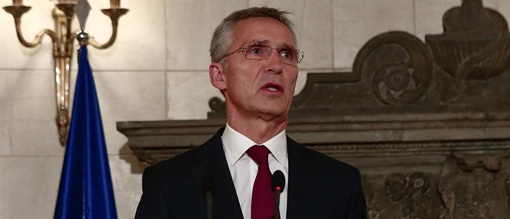 Στόλτενμπεργκ: συνεχίζω να ανησυχώ για την κατάσταση στην ανατολική Μεσόγειο