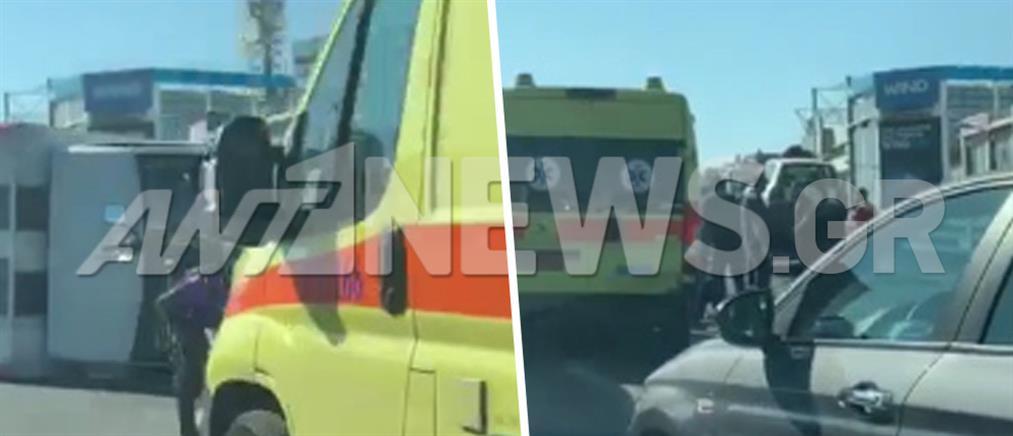 Εθνική οδός: ανατροπή φορτηγού - ουρές χιλιομέτρων