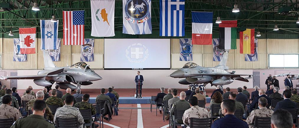 """""""Ηνίοχος 21"""" - Μητσοτάκης: Η Ελλάδα θα συνεχίσει να αναβαθμίζει τις ένοπλες δυνάμεις της"""