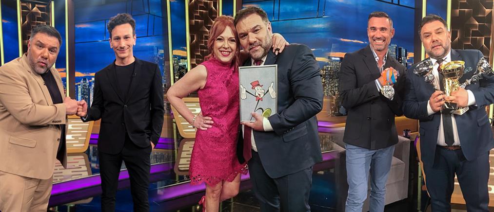 """The 2Night Show"": Ράντου, Καπουτζίδης και Σαράντης… δίνουν ρέστα (εικόνες)"