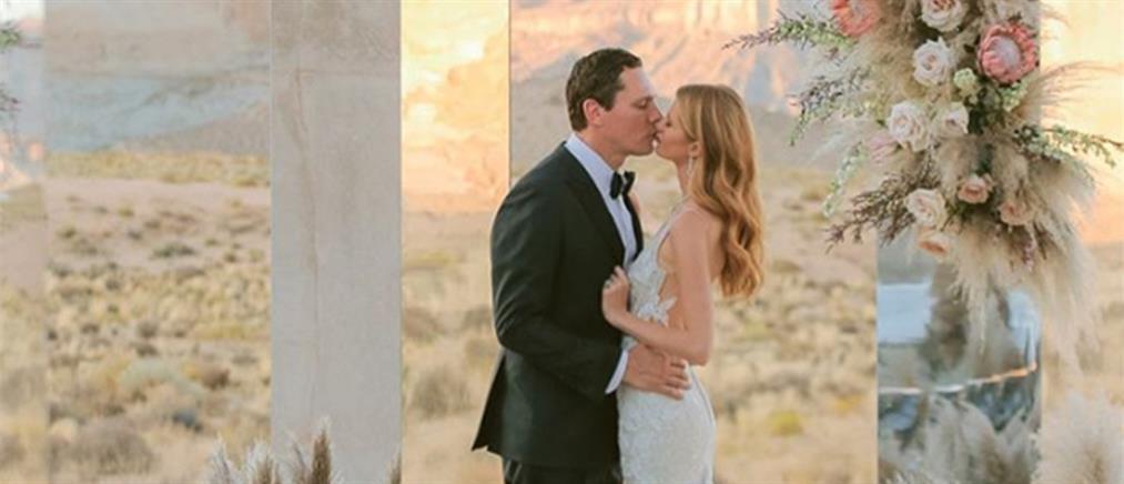 O DJ Tiesto παντρεύτηκε στην έρημο της Γιούτα