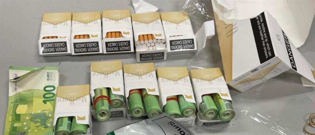 Ναυτικός έκρυψε χρήματα σε… τσιγάρα (εικόνες)