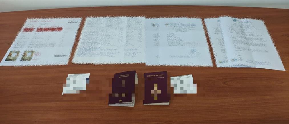 Ηράκλειο: Ταξίδευαν με κλεμμένα διαβατήρια και πλαστά τεστ κορονοϊού (εικόνες)