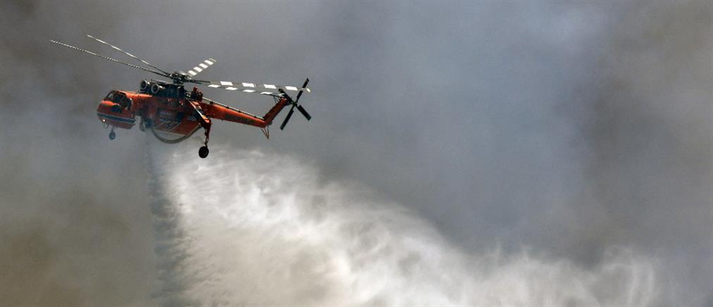 Ναύπλιο: Φωτιά στο Αραχναίο