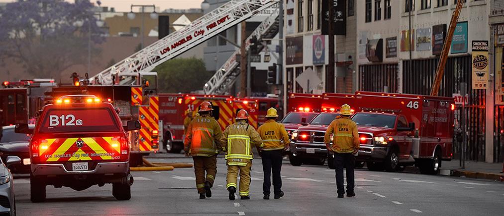 Πυροσβέστες τραυματίστηκαν από έκρηξη σε κατάσβεση φωτιάς