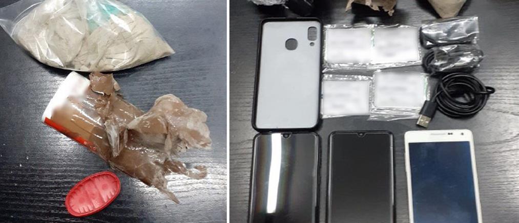 Φυλακή Κορυδαλλού: Ναρκωτικά βρέθηκαν στο προαύλιο (εικόνες)