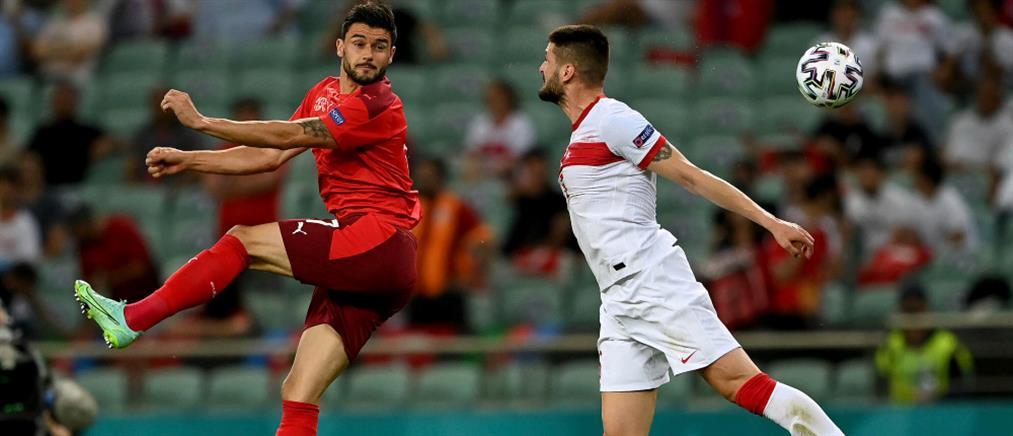 Euro 2020: Η Ελβετία νίκησε την Τουρκία και…περιμένει (εικόνες)