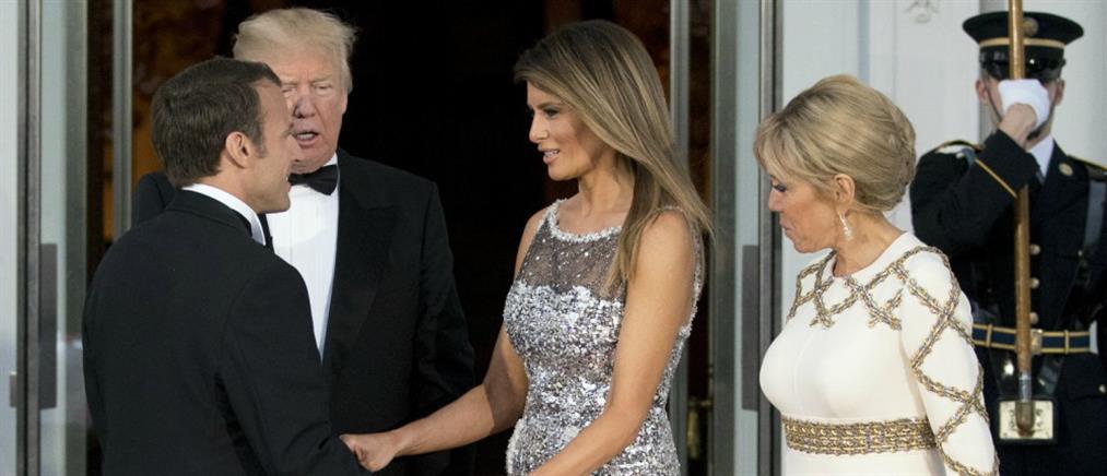 Μπριζίτ Μακρόν: η Μελάνια Τραμπ είναι ευχάριστη, αλλά πολύ περιορισμένη!