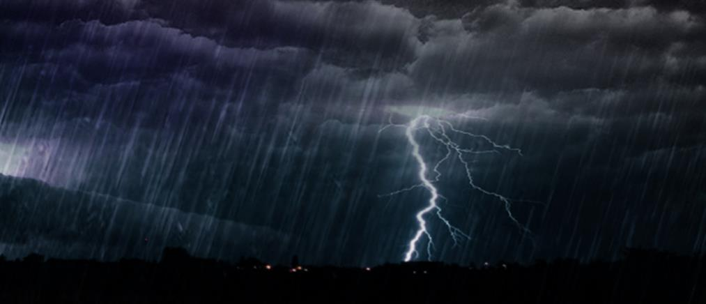 Έκτακτο δελτίο ΕΜΥ: Καταιγίδες και ισχυροί άνεμοι