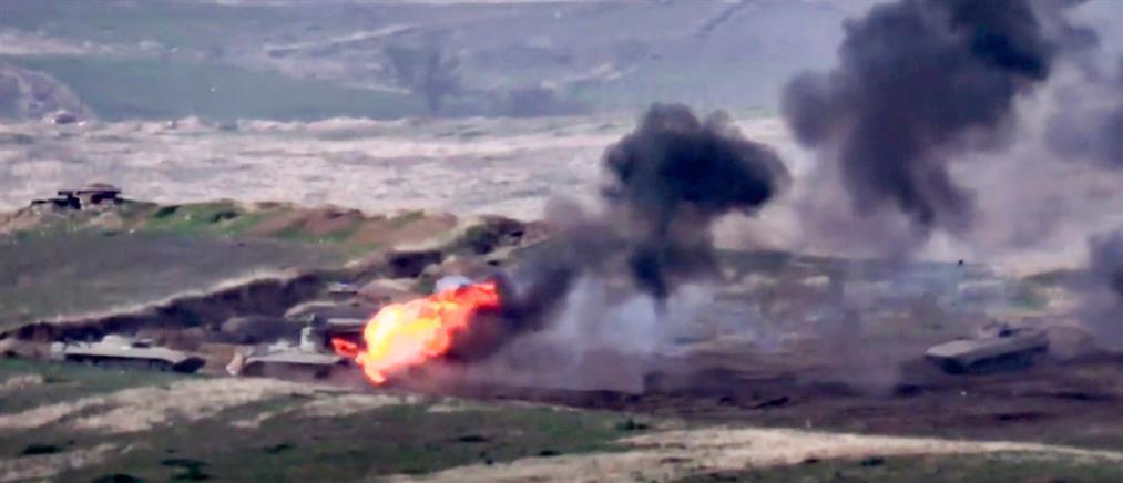 Ναγκόρνο Καραμπάχ: Συνεχίζονται οι μάχες – μακραίνει η λίστα των νεκρών (βίντεο)