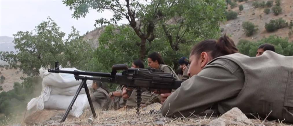 Συρία: Στην πρώτη γραμμή του μετώπου οι Κούρδισσες μαχήτριες (βίντεο)