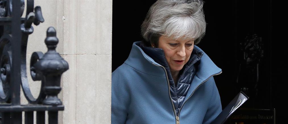 """""""Βελτιωμένη"""" συμφωνία για το Brexit υπόσχεται η Μέι"""