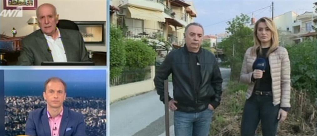 """Συγκλονιστική μαρτυρία στον ΑΝΤ1 για την τραγωδία στην Θεσσαλονίκη: """"Το θύμα ξεψύχησε στα χέρια μου"""" (βίντεο)"""