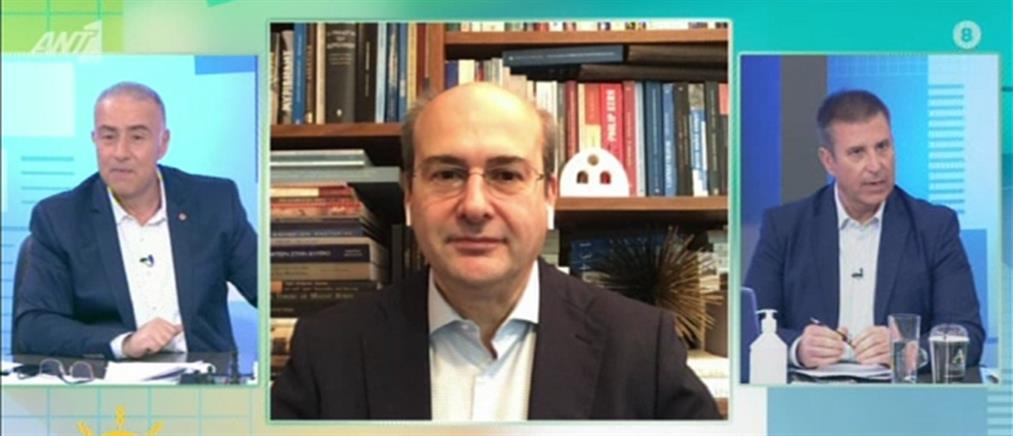 Χατζηδάκης στον ΑΝΤ1: δεν συμμετέχουμε σε παιχνίδια εντυπώσεων που σχεδιάζει η Τουρκία (βίντεο)