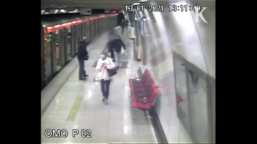 Νέο βίντεο με τον ξυλοδαρμό του σταθμάρχη