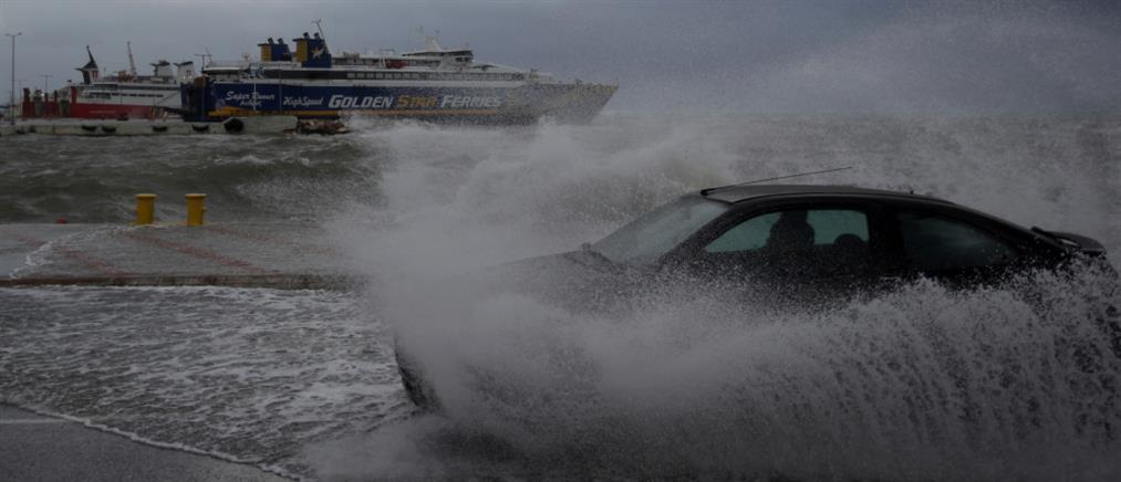 """Έκτακτο δελτίο ΕΜΥ: Στο """"μάτι"""" του κυκλώνα η χώρα – Στο """"κόκκινο"""" και η Αττική"""