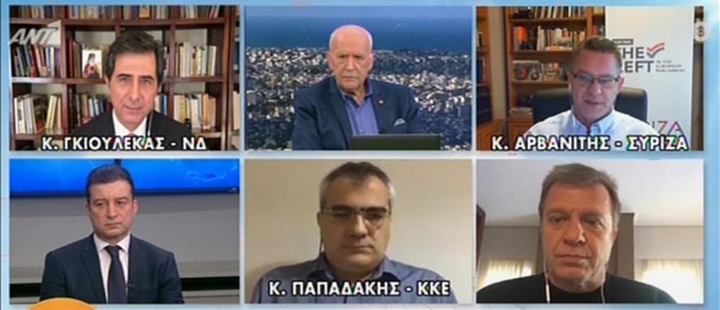 Πολιτική αντιπαράθεση μετά τη συνέντευξη Μητσοτάκη στον ΑΝΤ1 (βίντεο)