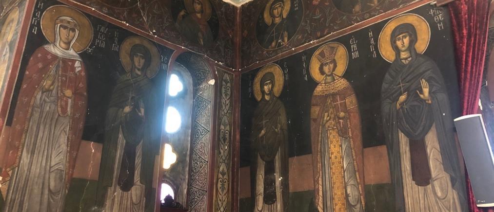 Φώτης Κόντογλου: πολιτιστική κληρονομιά στον Ναό του Αγίου Χαραλάμπους (εικόνες)