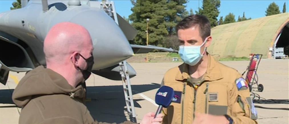 Γάλλος πιλότος στον ΑΝΤ1 για τα πλεονεκτήματα του Rafale (βίντεο)