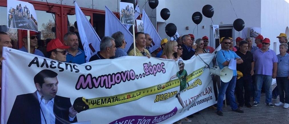Πορεία των εργαζομένων στα δημόσια νοσοκομεία Θεσσαλονίκης (βίντεο)