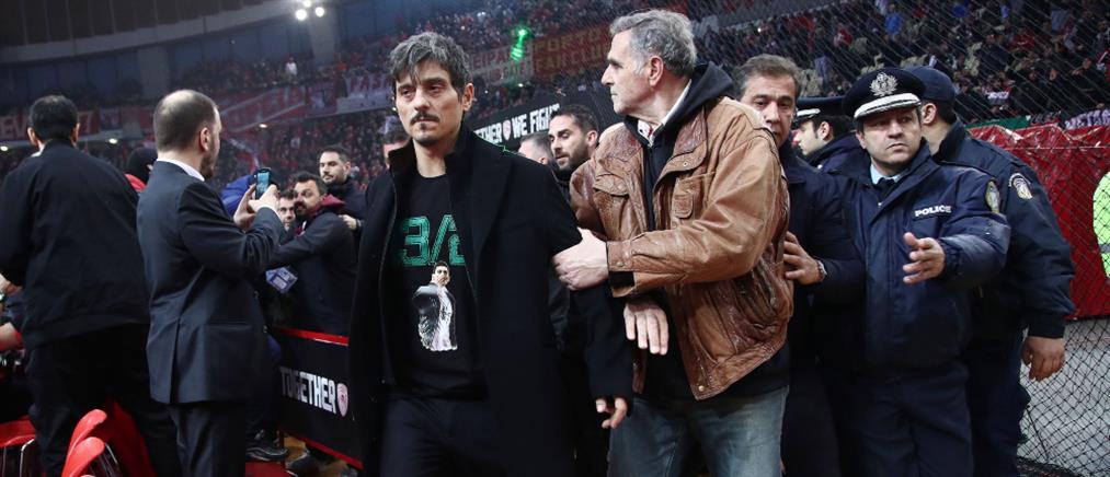 Παναθηναϊκός: Καταγγελία για επίθεση στον Δημήτρη Γιαννακόπουλο, μέσα στο ΣΕΦ (εικόνες)
