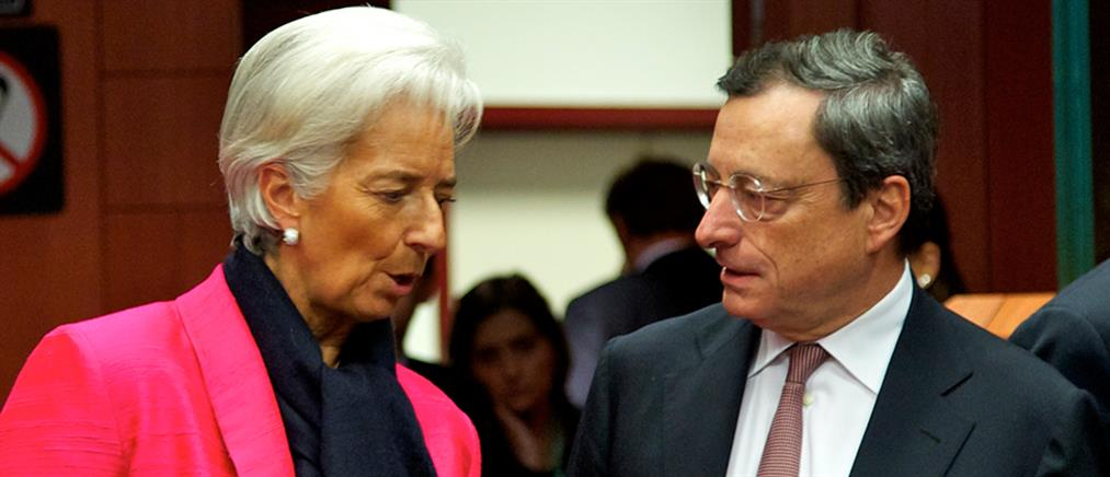 Λαγκάρντ και Ντράγκι στο έκτακτο Eurogroup της 11ης Φεβρουαρίου