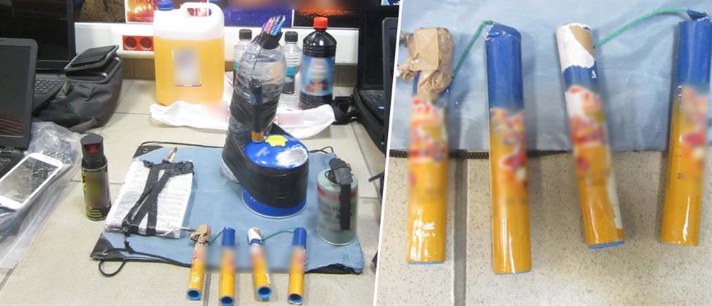 Συλλήψεις για εκρηκτικούς μηχανισμούς (εικόνες)